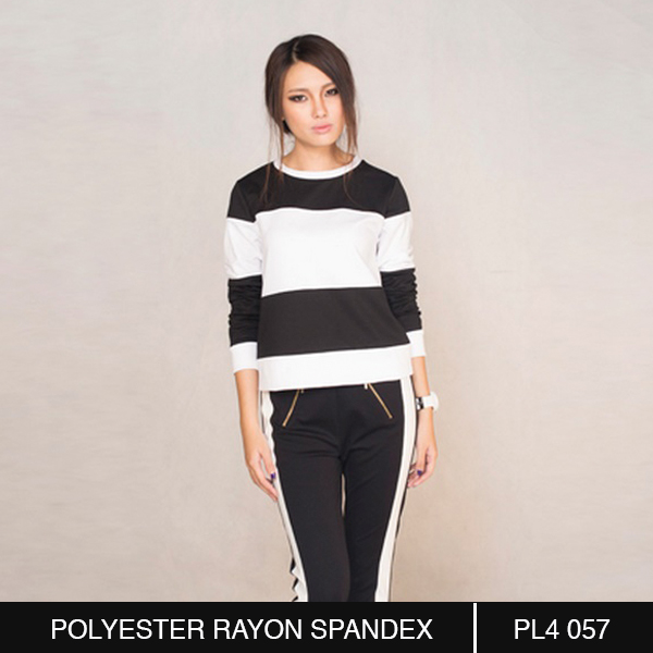 Black and White Stripes Blouse in Vietnam