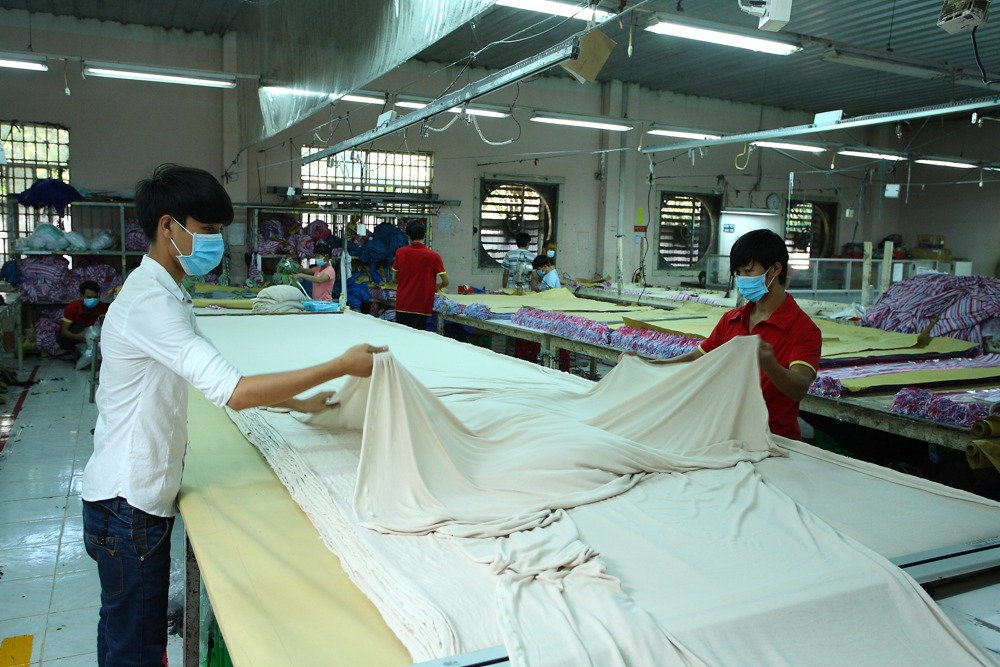 Thai Son S.P sewing factory